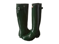 Hunter Original Back Adjustable Gloss Green Women's Rain Boots