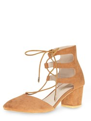 Dorothy Perkins Halo Round Toe Courts Brown