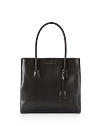 Karen Millen Investment Saffiano Tote Black