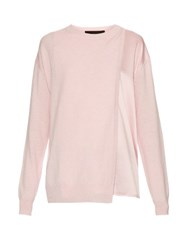Haider Ackermann Invidia Wool And Cashmere Blend Sweater Light Pink