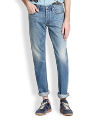 Marc By Marc Jacobs Light Wash Straight Leg Jeans Summer Indigo