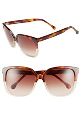 Women's Steven Alan 'Elmont' 57Mm Sunglasses Tortoise
