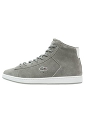 Lacoste Carnaby Mid Hightop Trainers Grey Light Grey