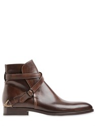 Fratelli Rossetti Hand Painted Leather Ankle Boots