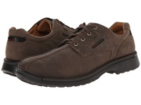 Fusion Bicycle Toe Tie Coffee Leather Men's Lace Up Bicycle Toe Shoes Brown