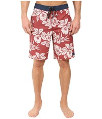 O'neill Akala Boardshorts Red Brick Men's Swimwear Gold