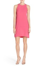 Women's Charles Henry Sleeveless Drop Waist Shift Dress