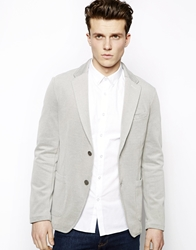 United Colors Of Benetton Pique Casual Blazer Grey