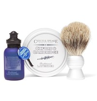 Czech And Speake Oxford And Cambridge Travel Shaving Set Blue