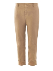 Band Of Outsiders Flat Front Cotton Chinos