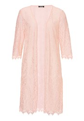 Vera Mont Lace Dress Coat Rose