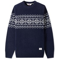 Penfield Hickman Crew Knit Blue