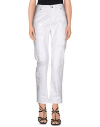Givenchy Denim Denim Trousers Women White