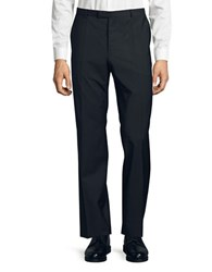 Hugo Wool Suit Pants Black