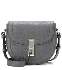 Altuzarra Ghianda Saddle Mini Leather Shoulder Bag Grey