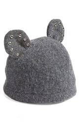 Helene Berman Women's Studded Ears Wool Blend Cap