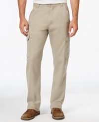 Wrangler Mens Twill Cargo Pants Medium Beige