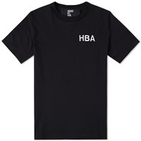 Hood By Air Embroidered Logo Tee Black