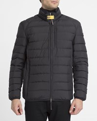 Parajumpers Black Ugo Feather Down Jacket