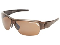 Tifosi Optics Elder Interchangeable Crystal Brown Athletic Performance Sport Sunglasses