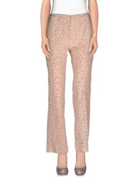 Paolo Pecora Trousers Casual Trousers Women Skin Color