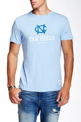 Original Retro Brand North Carolina Tar Heels Tee Blue