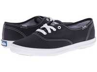 Keds Champion Canvas Cvo Navy Canvas Women's Lace Up Casual Shoes Blue