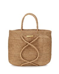 Vix Swimwear X Straw Beach Bag Natural