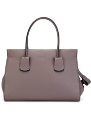 Tod's Medium Shopping Tote Pink And Purple