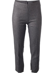 Jo No Fui Cropped Trouser Grey