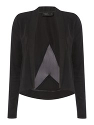 Label Lab Updated Tailored Cropped Jacket Black