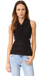 Rick Owens Sleeveless Cut Out Top Black