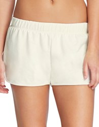 Yummie Tummie Plus Dolphin Hem Shorts Cream