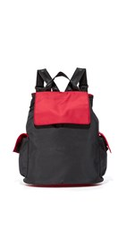 Bag Studio Backpack Black Red