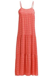 Gaudi Maxi Dress Poppy Red