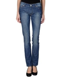 E Go' Sonia De Nisco Denim Pants Blue