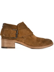 Marsell Marsell Buckled Ankle Boots Brown
