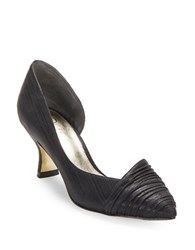 Adrianna Papell Harriet Pleated D Orsay Pumps Black