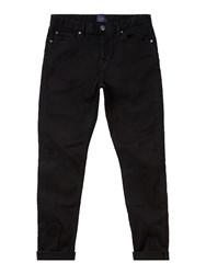 Criminal Men's Slater Slim Fit Black Rinse Jean Black