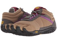 Vibram Fivefingers Trek Ascent Insulated Khaki Grape Women's Shoes