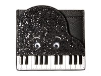 Kate Spade Jazz Things Up Piano Card Case Black White Credit Card Wallet