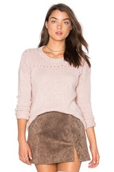 Velvet By Graham And Spencer Keri Sweater Blush