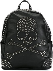 Philipp Plein 'Pirate' Backpack Black