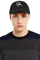 Opening Ceremony Syd Mead Car Embroidered Cap Black