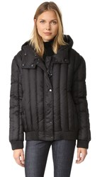 Carven Puffer Coat Black