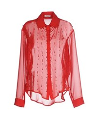 Le Ragazze Di St. Barth Shirts Shirts Women Red