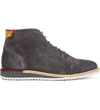 Ted Baker Odaire Suede Ankle Boots Grey