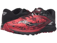 Saucony Kinvara 7 Runshield Red Black Silver Men's Running Shoes