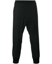 Neil Barrett Wool Blend Sweatpants Black White