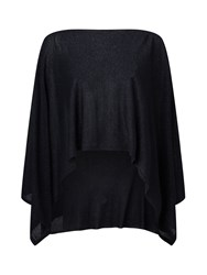 Jacques Vert Knitted Throw Black